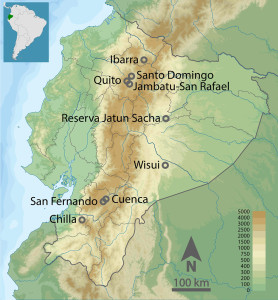 Field Sites in Ecuador